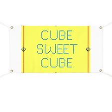 Cube Sweet Cube Banner