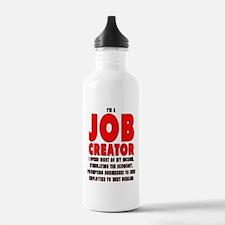 I'm A Job Creator Water Bottle