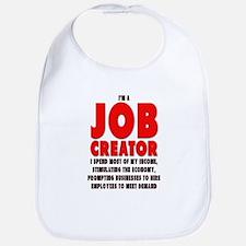 I'm A Job Creator Bib