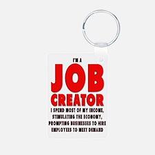 I'm A Job Creator Keychains