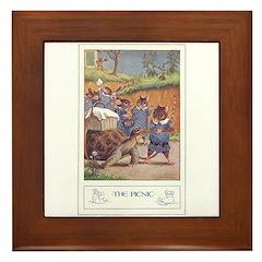The Picnic Framed Tile