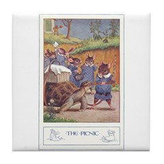 The Picnic Tile Coaster