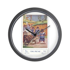 The Picnic Wall Clock