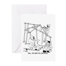 They Were Low Bidders Greeting Cards (Pk of 20)