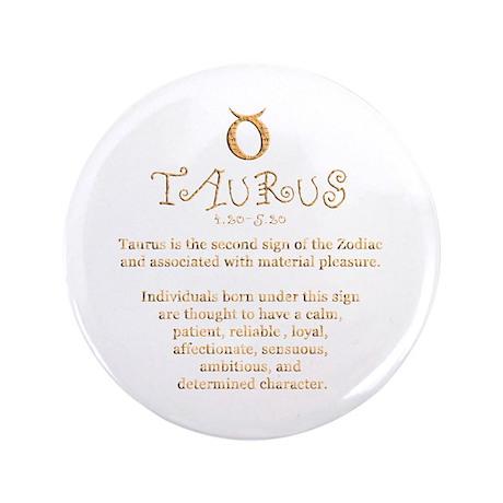"Taurus 3.5"" Button (100 pack)"
