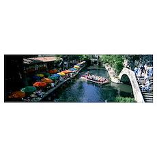 River Walk San Antonio TX Poster