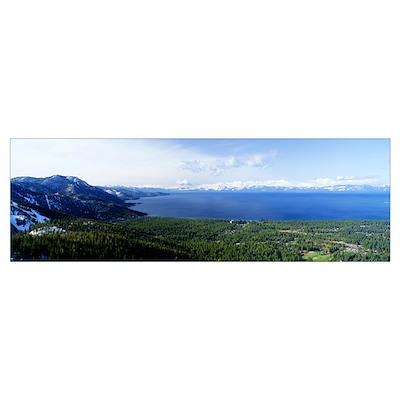 North Shore Lake Tahoe CA Poster