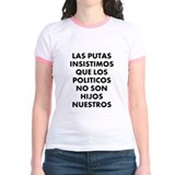 Putas Jr. Ringer T-Shirt