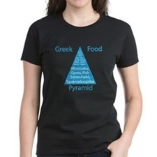 Greek Food Pyramid Tee