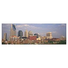 Skyline Nashville TN Poster