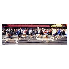 New York City Marathon New York NY Poster