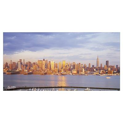 Midtown Manhattan New York City NY Poster