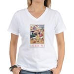 Georgie Porgie Women's V-Neck T-Shirt