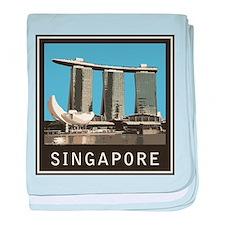 Singapore Marina Bay Sands baby blanket