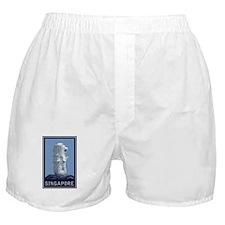 Singapore Merlion Boxer Shorts