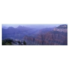 Dawn North Rim Grand Canyon National Park AZ Framed Print