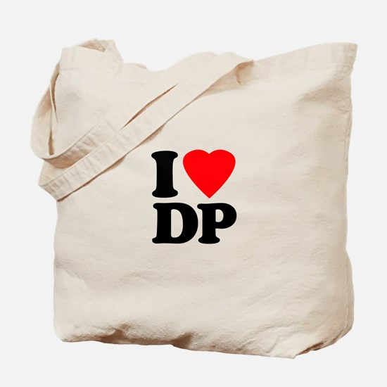 I Love DP Tote Bag