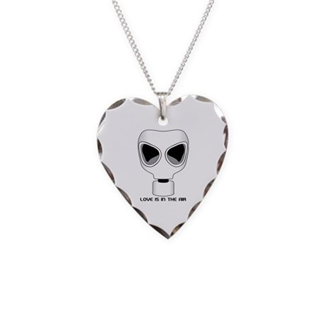 Love Is In The Air, Anti Valentines Day Necklace H