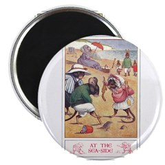 """At the Seaside 2.25"""" Magnet (10 pack)"""
