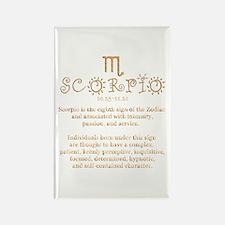 Scorpio Rectangle Magnet