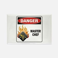 Master Chef Rectangle Magnet