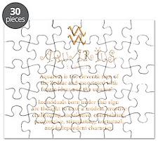 Aquarius Puzzle