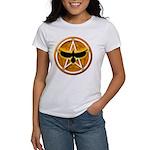 Crow Pentacle - Yellow - Women's T-Shirt