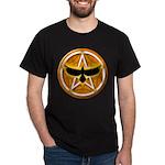 Crow Pentacle - Yellow - Dark T-Shirt