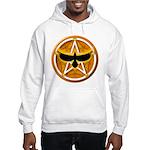 Crow Pentacle - Yellow - Hooded Sweatshirt