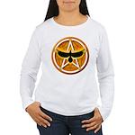 Crow Pentacle - Yellow - Women's Long Sleeve T-Shi