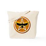 Crow Pentacle - Yellow - Tote Bag