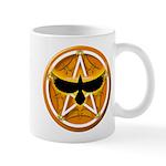 Crow Pentacle - Yellow - Mug