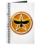Crow Pentacle - Yellow - Journal