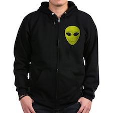 Happy Alien Zip Hoodie