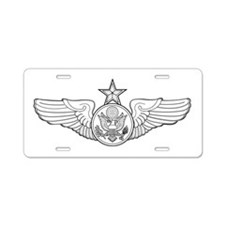 Cute Enlisted Aluminum License Plate