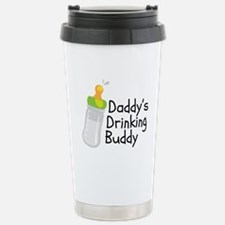 Daddy's Drinking Buddy Stainless Steel Travel Mug