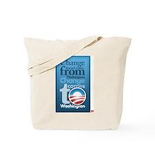 Change comes to washington Tote Bag