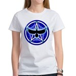 Crow Pentacle - Blue - Women's T-Shirt