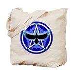 Crow Pentacle - Blue - Tote Bag