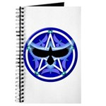 Crow Pentacle - Blue - Journal