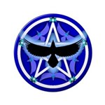 Crow Pentacle - Blue - 3.5