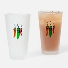 Fiery Amigos Drinking Glass