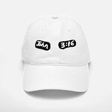 John 3 16 Eye Black Baseball Baseball Cap