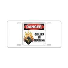 Griller Aluminum License Plate