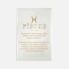 Pisces Rectangle Magnet
