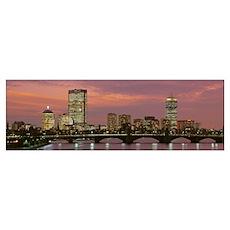 Massachusetts, Boston, Back Bay Poster