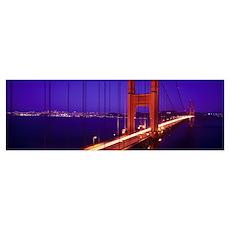 Golden Gate Bridge CA Poster