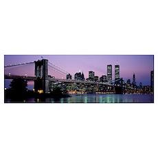 Brooklyn Bridge New York NY Poster