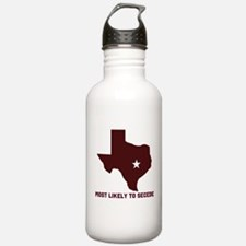 Most Likely To Secede (Maroon Water Bottle