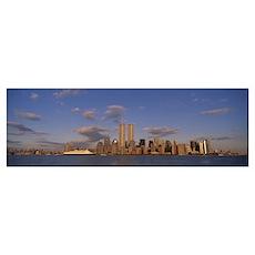 Skyline New York NY Poster